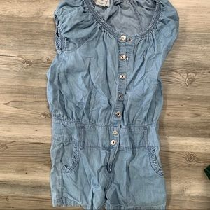 Guess Romper-Blue Jean/good condition